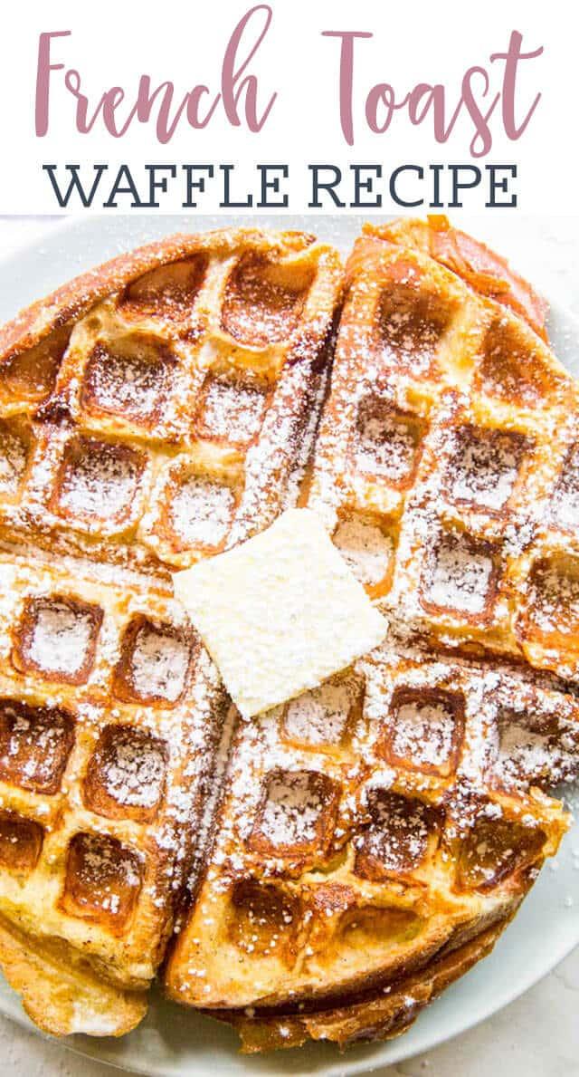 titled photo: French Toast Waffle Recipe