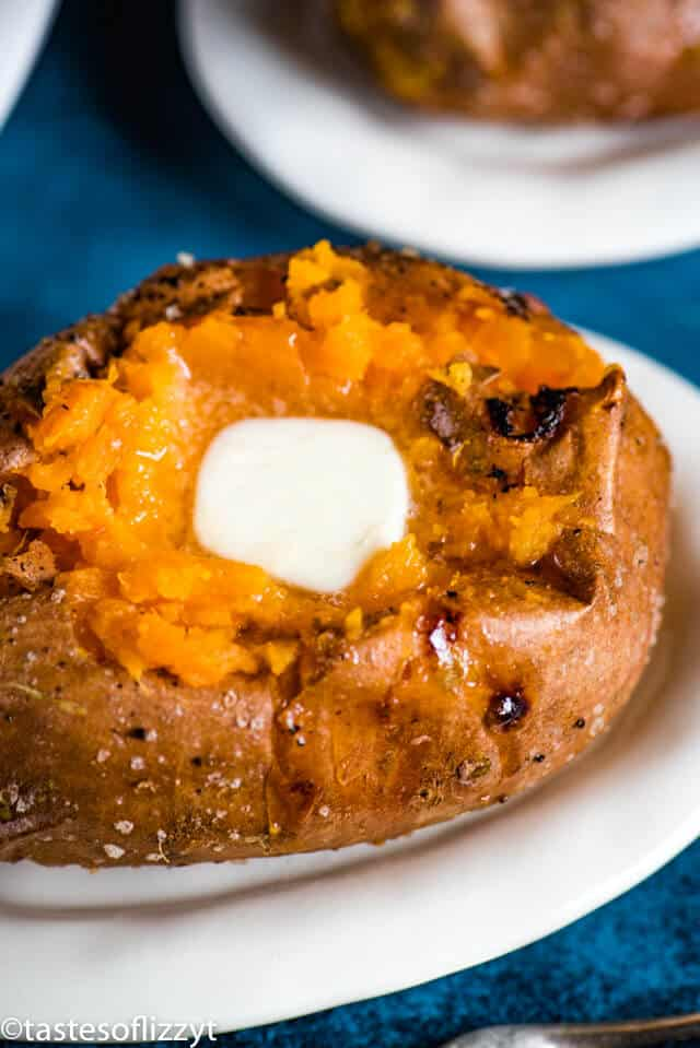 A close up of a Sweet potato
