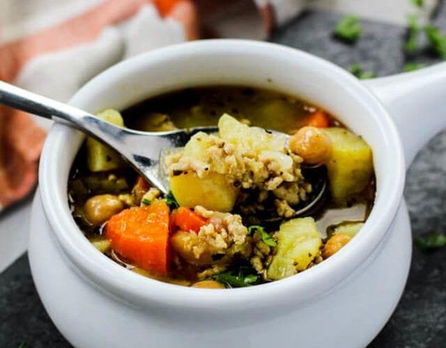 Chicken Sweet Potato Soup