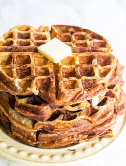 stack of French Toast Waffles