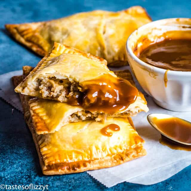 sausage hand pies with gravy