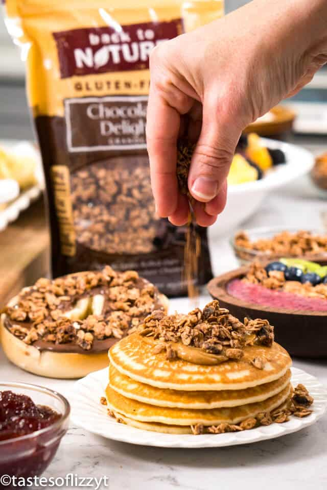 Easy Brunch Ideas With Granola How To Eat Granola For Breakfast