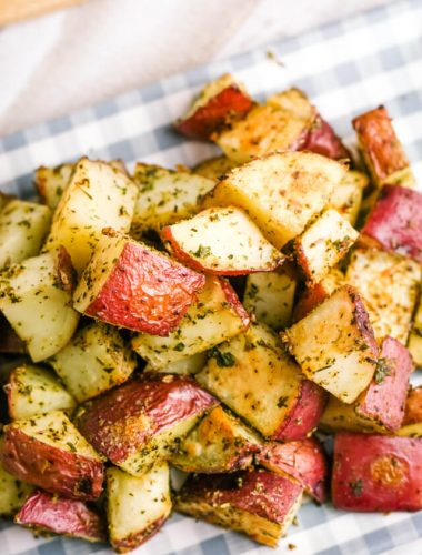 Roasted Red Potatoes with seasonings