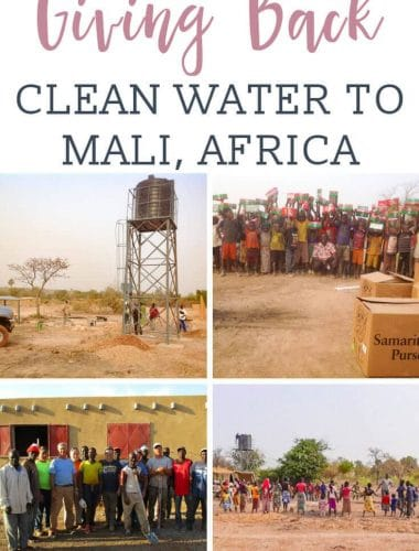 Providing clean water to Mali Africa, one well at a time. Well drilling costs pump and solar panels, and a water storage tank and system installation.