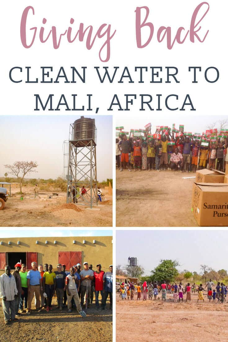 Providing clean water to Mali Africa, one well at a time. Well drilling costs pump and solar panels, and a water storage tank and system installation. #welldrilling #water #africa #mali via @tastesoflizzyt