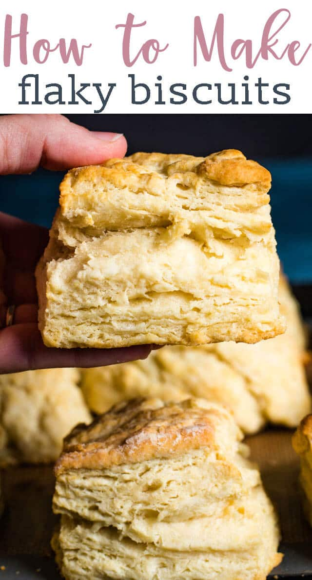 You'll love how easy these Amish Buttermilk Biscuits are. We'll teach you how to make flaky layers in biscuits. They come together in less than 30 minutes! via @tastesoflizzyt