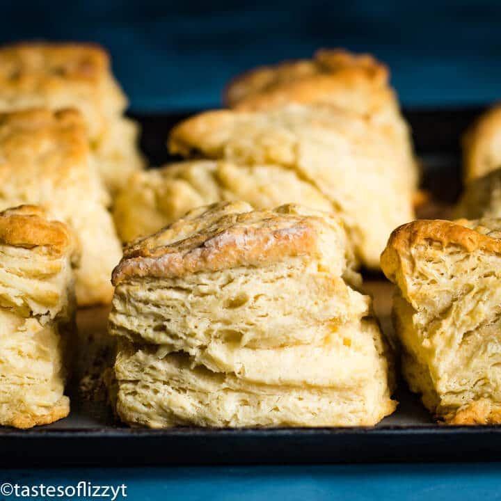 square image Homemade Buttermilk Biscuits Recipe
