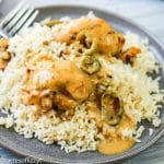 Instant Pot Honey Mustard Chicken closeup