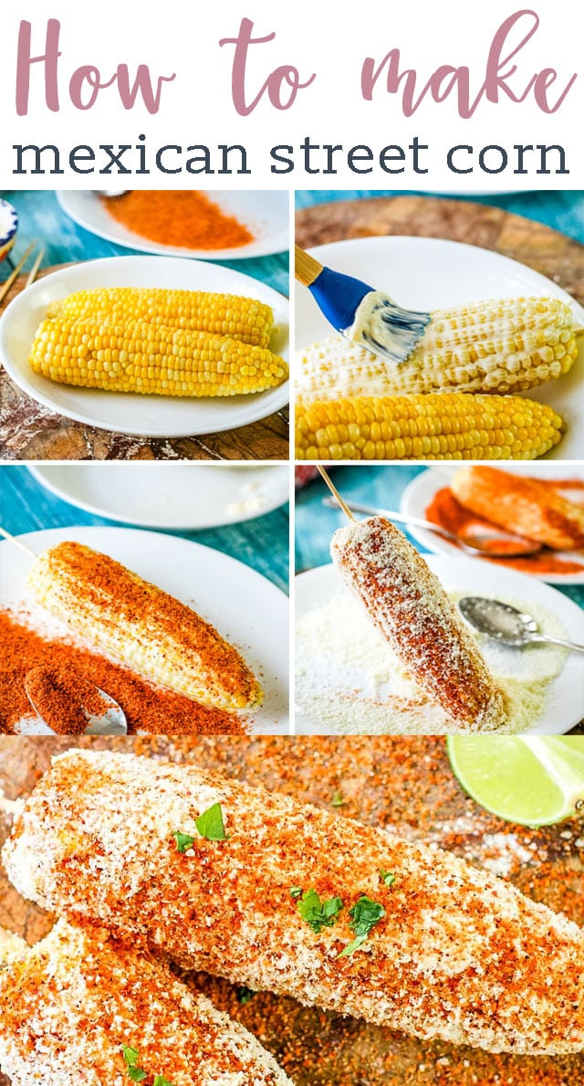 Today we're talking all about how to make authentic Mexican Street Corn, AKA Elotes! One of the best Mexican side dishes, we'll share tips for getting it on the table quickly. #elotes #corn #streetcorn #mexican #cincodemayo via @tastesoflizzyt