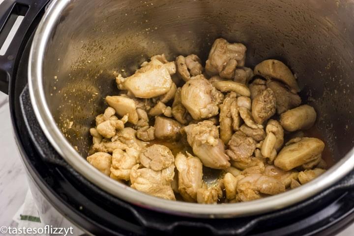 chicken in an instant pot