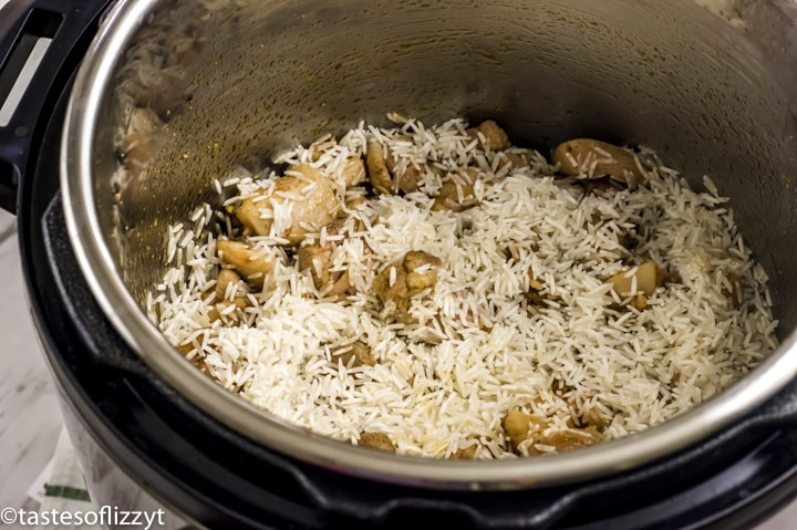 chicken and rice in instant pot