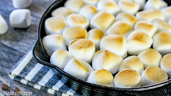 baked s\'mores dip
