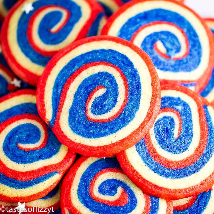 pile of pinwheel cookies