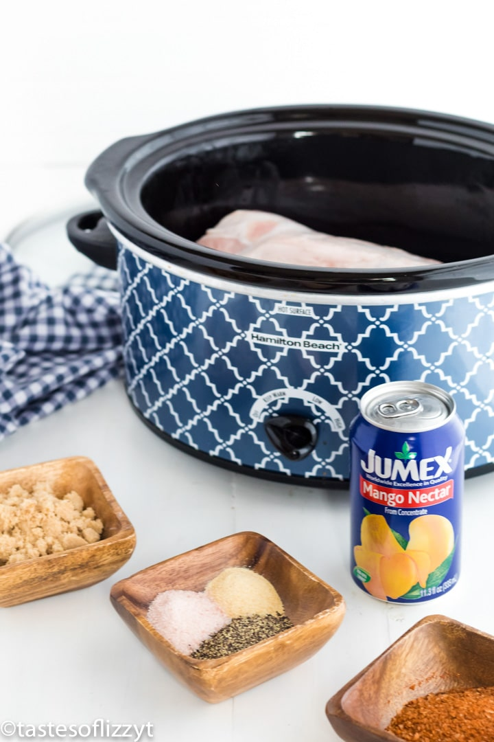 ingredients for slow cooker pulled pork