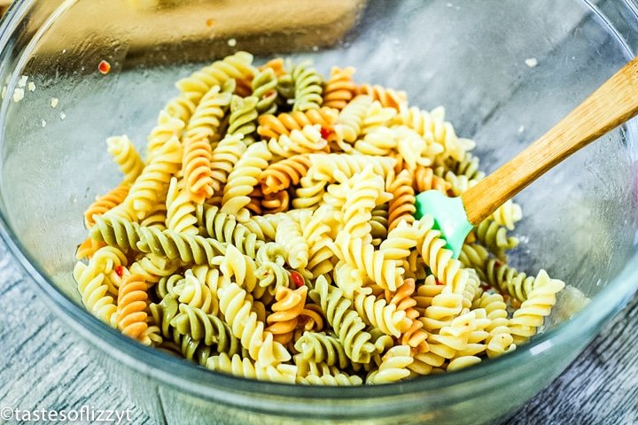pasta in a bowl