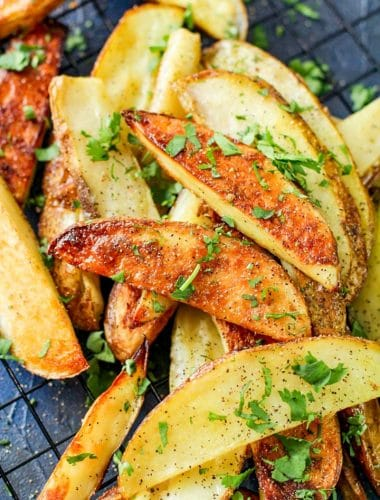 best ever Baked Potato Wedges