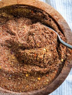 Homemade Taco Seasoning in a bowl