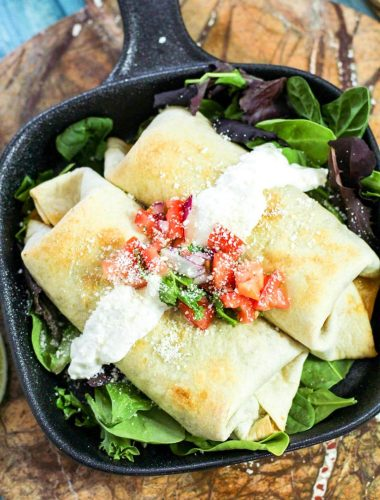 chimichangas with ground turkey