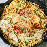 Chicken Piccata Recipe with lemon and capers