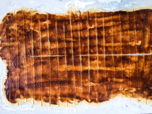 unrolled cinnamon rolls