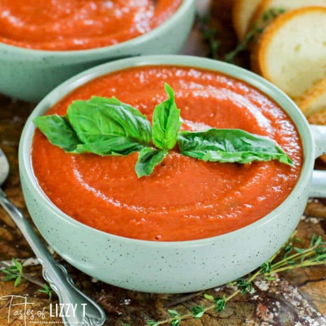 bowl of Tomato Bisque Soup