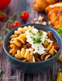 ricotta cheese on Easy Lasagna Soup