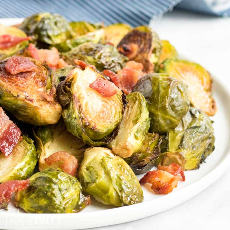 pile of roasted Brussels Sprouts
