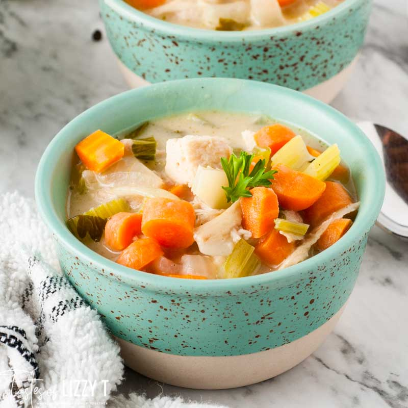 bowl of Easy Chicken Soup