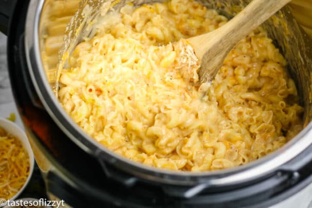 macaroni and cheese in instant pot