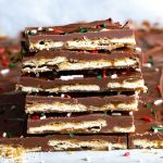 stack of cracker candy