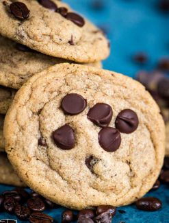 cookies with espresso powder