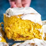 easy Pumpkin Cinnamon Rolls
