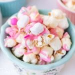 Easter Candy Popcorn Mix with marshmallows