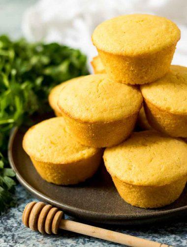 homemade corn muffins