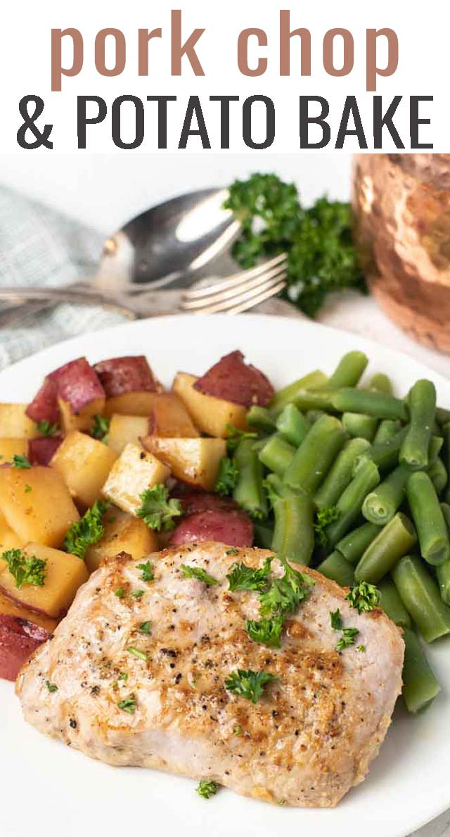 Healthy Pork Chop Potato Bake Recipe Tastes Of Lizzy T