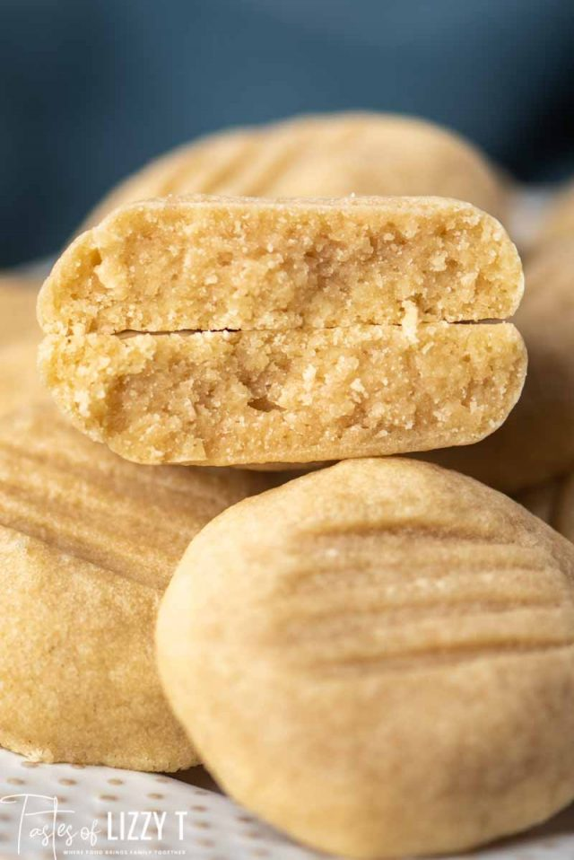 thick dense brown sugar butter cookies
