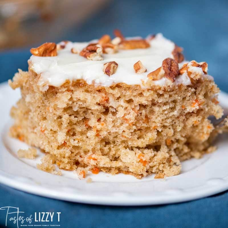 amish friendship bread carrot cake with cream cheese frosting