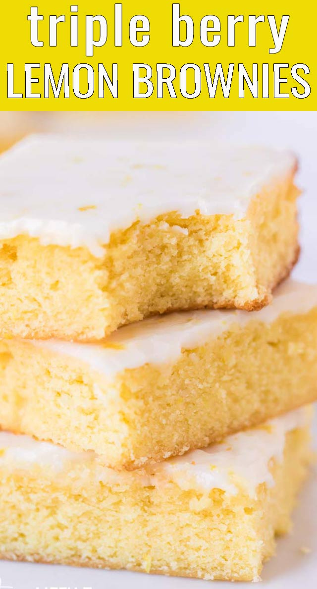 Love chewy brownies but don't want chocolate? Try these frosted Lemon Brownies! They are sweet, tangy and perfect for picnics or afternoon snacks. via @tastesoflizzyt