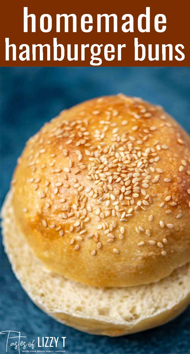 The best hamburger buns around...and you can make them at home! Tips for making soft, fluffy white rolls for any sandwich. via @tastesoflizzyt