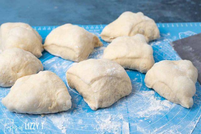 dough balls for buns