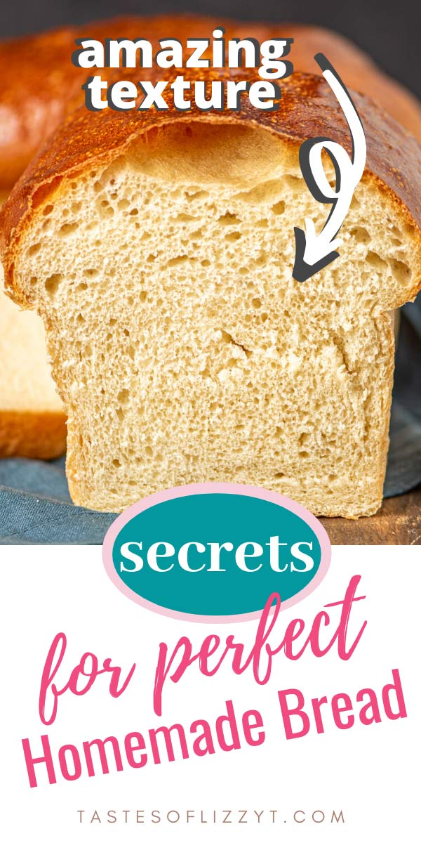 Whether you are new to making homemade bread or a seasoned baker, there is always something new to learn! Here are our secrets for the best homemade bread, plus troubleshooting topics. via @tastesoflizzyt