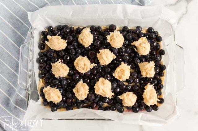 unbaked blueberry coconut bars