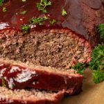sliced barbecue meatloaf