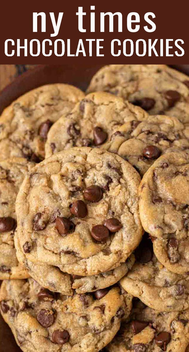 The search is over. Introducing the all around best Bakery Style Chocolate Chip Cookies Recipe. Slightly crisp on the outside, soft and chewy on the inside. via @tastesoflizzyt