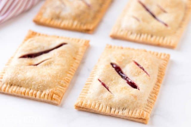 4 cherry hand pies