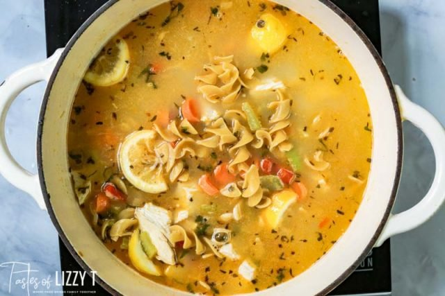 chicken soup with egg noodles