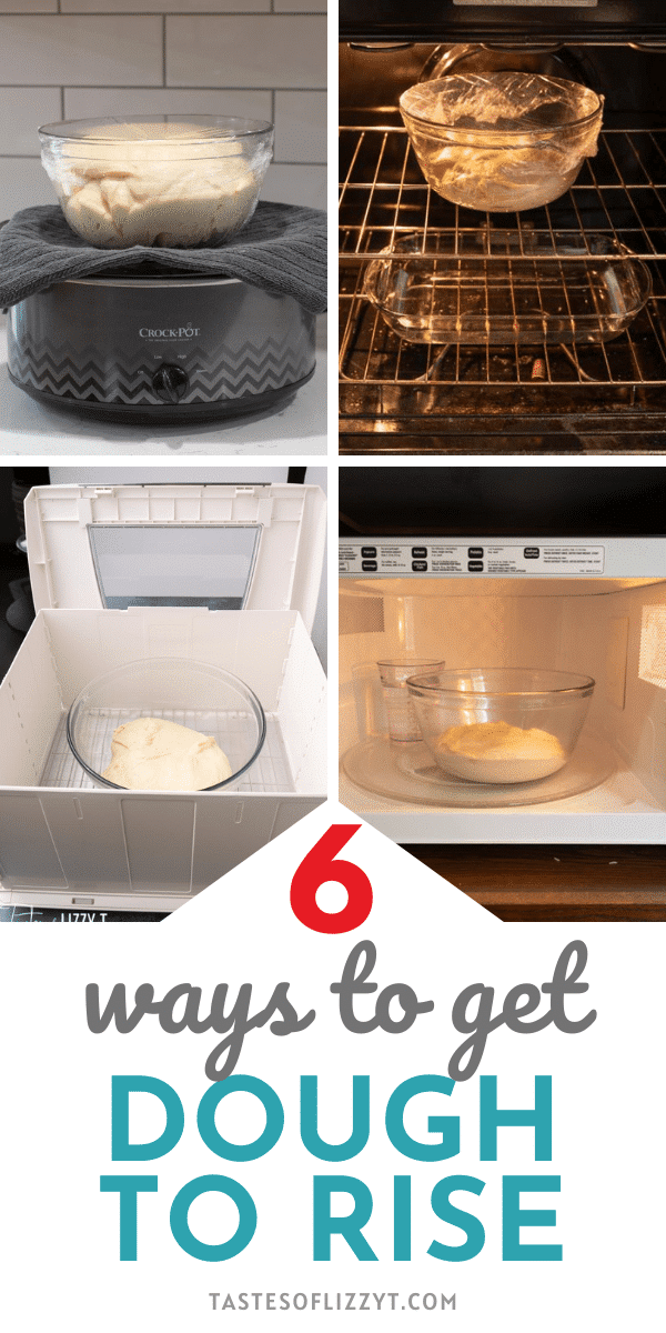 We're sharing tips and techniques so you can learn how to make dough rise faster. Bake your yeast breads and rolls more quickly! via @tastesoflizzyt