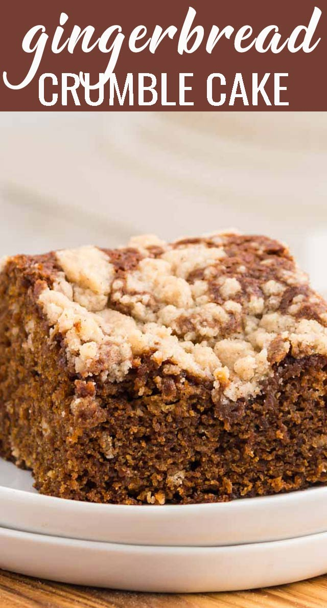 A warm piece of this simple Glorified Gingerbread Cake will be ready to eat in just an hour. Serve it with a dollop of whip cream on top for a light, festive dessert. via @tastesoflizzyt