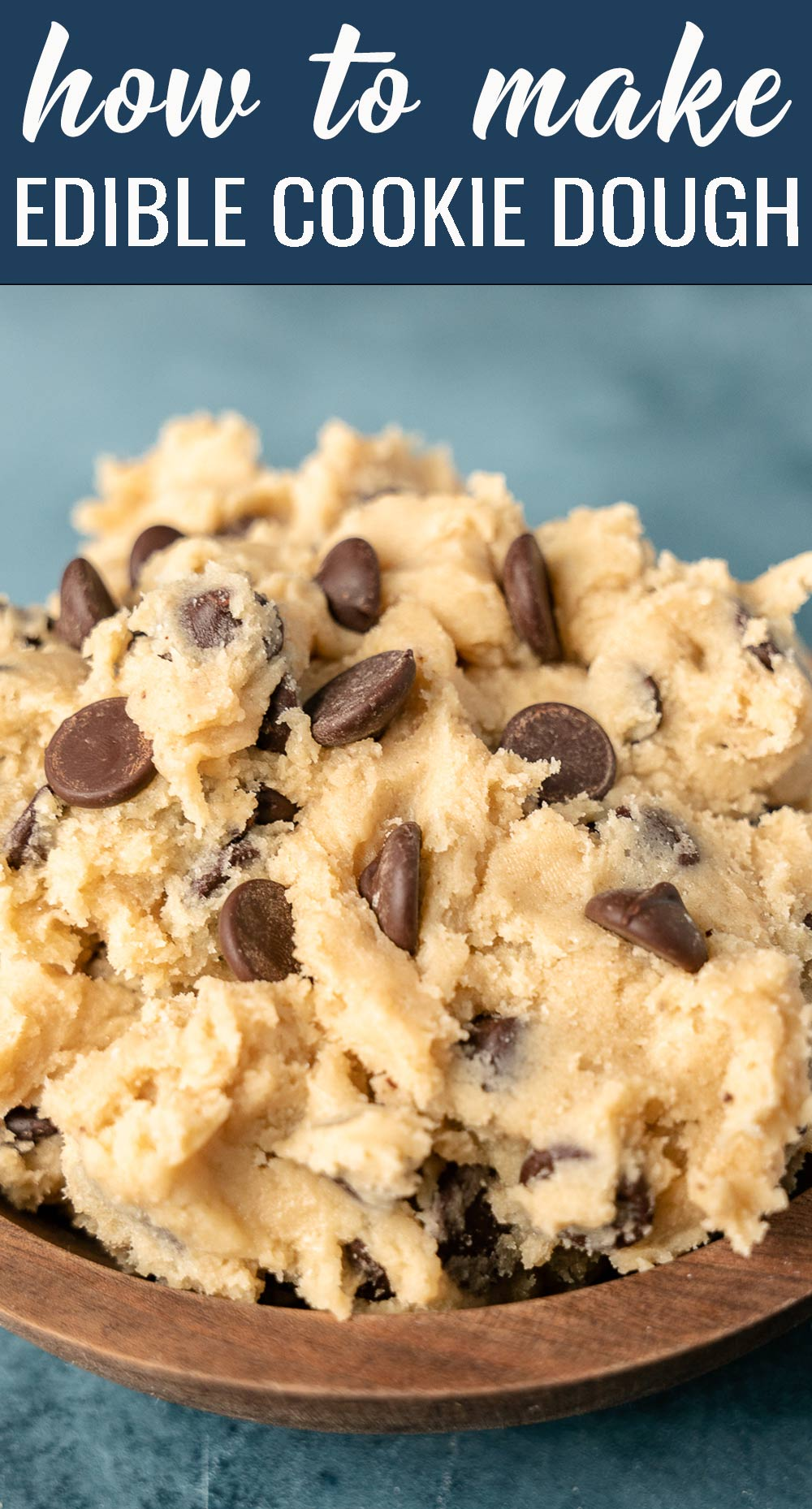 Only 10 minutes needed to cure your cookie cravings! Learn how to make edible cookie dough safely and quickly. via @tastesoflizzyt