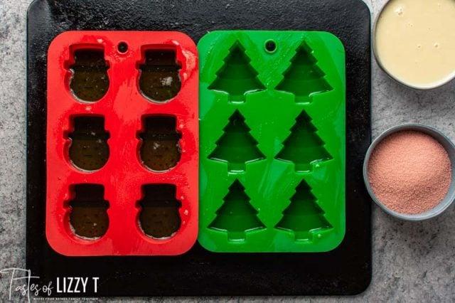 jello in silicone molds